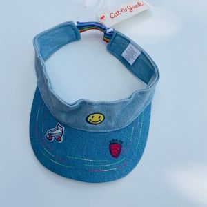 Cat and Jack Visor hats for girls